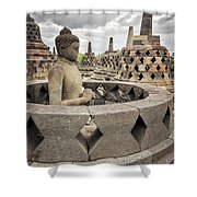 The Path Of The Buddha #4 Shower Curtain