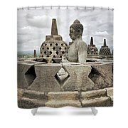 The Path Of The Buddha #6 Shower Curtain