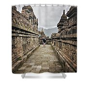 The Path Of The Buddha #7 Shower Curtain