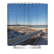 The Path To Relaxation Shower Curtain
