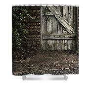 The Path To The Doorway Shower Curtain