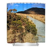 The Path Upwards Shower Curtain