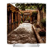The Patio Market Shower Curtain