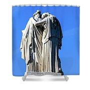 The Peace Monument Shower Curtain