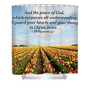 The Peace Of God Shower Curtain