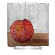 The Peach Shower Curtain