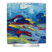 The Peak Shower Curtain