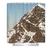 The Summit Of Mount Denali 19,000 Feet  Shower Curtain