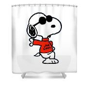 The Peanuts Shower Curtain