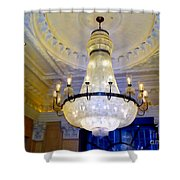 The Peninsula Chandelier Shower Curtain