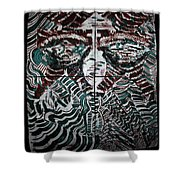 The Penitent Shower Curtain