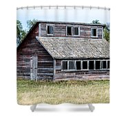 The Penthouse Coop Shower Curtain