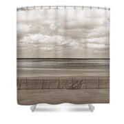 The Perfect Sky Is Torn Shower Curtain