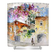 The Perigord In France Shower Curtain