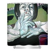 The Peter Max Generation. Shower Curtain