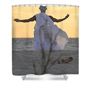 The Petition Shower Curtain
