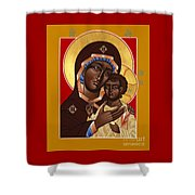The Petrovskya Icon Of The Mother Of God 128 Shower Curtain