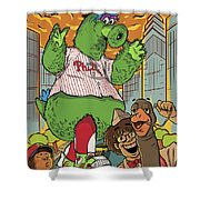 The Pherocious Phanatic Shower Curtain