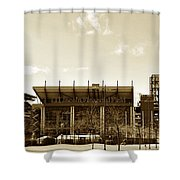 The Philadelphia Eagles - Lincoln Financial Field Shower Curtain