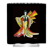 The Phoenix 2 Shower Curtain