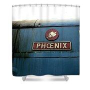The Phoenix Shower Curtain