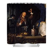 The Physician 1653  Shower Curtain