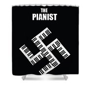 The Pianist Shower Curtain