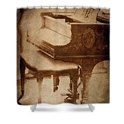 The Piano... Shower Curtain