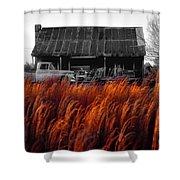 The Pick-up Truck Shower Curtain