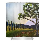 The Picnic Spot Shower Curtain