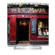 The Pie Maker Shower Curtain