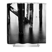 The Pier 3 Shower Curtain