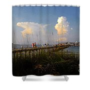 The Pier On Anna Maria Island Shower Curtain