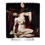 The Pieta Shower Curtain