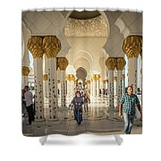 The Pillars Shower Curtain