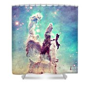 The Pillars Of Creation  Shower Curtain