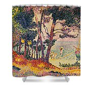The Pine Wood, Provence Shower Curtain