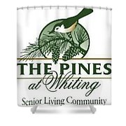 The Pines At Whiting Shower Curtain