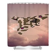 The Pink Lady Shower Curtain