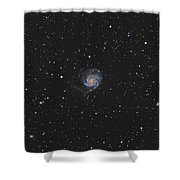 The Pinwheel Galaxy Shower Curtain