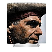 The Pirate Shower Curtain by David Patterson