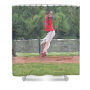 The Pitch Shower Curtain