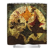 The Pittsburgh Steelers R1 Shower Curtain