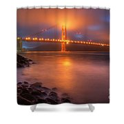 The Place Where Romance Starts Shower Curtain