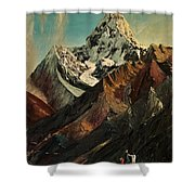 The Places We Will Live Shower Curtain