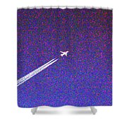 The Plane Shower Curtain