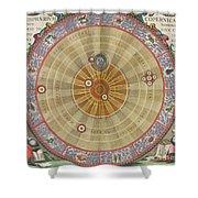 The Planisphere Of Copernicus Harmonia Shower Curtain