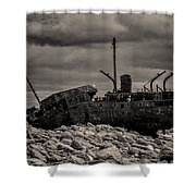 The Plassey Shower Curtain
