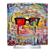 The Plasticity Of Dreams Shower Curtain