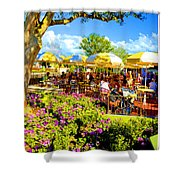 The Plaza Magic Kingdom Walt Disney World Shower Curtain